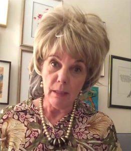 Linda as Dr. Bonnie Henry