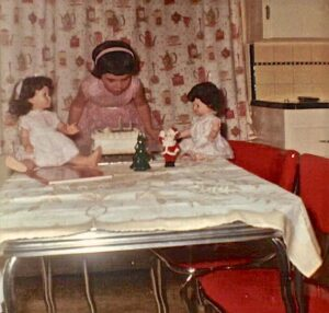 Linda and dolls